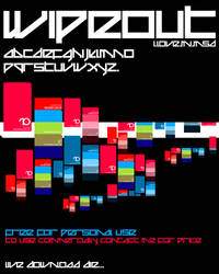 Wipeout Typeface by PAULW