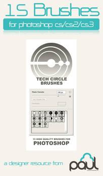 Tech Circle Brushes