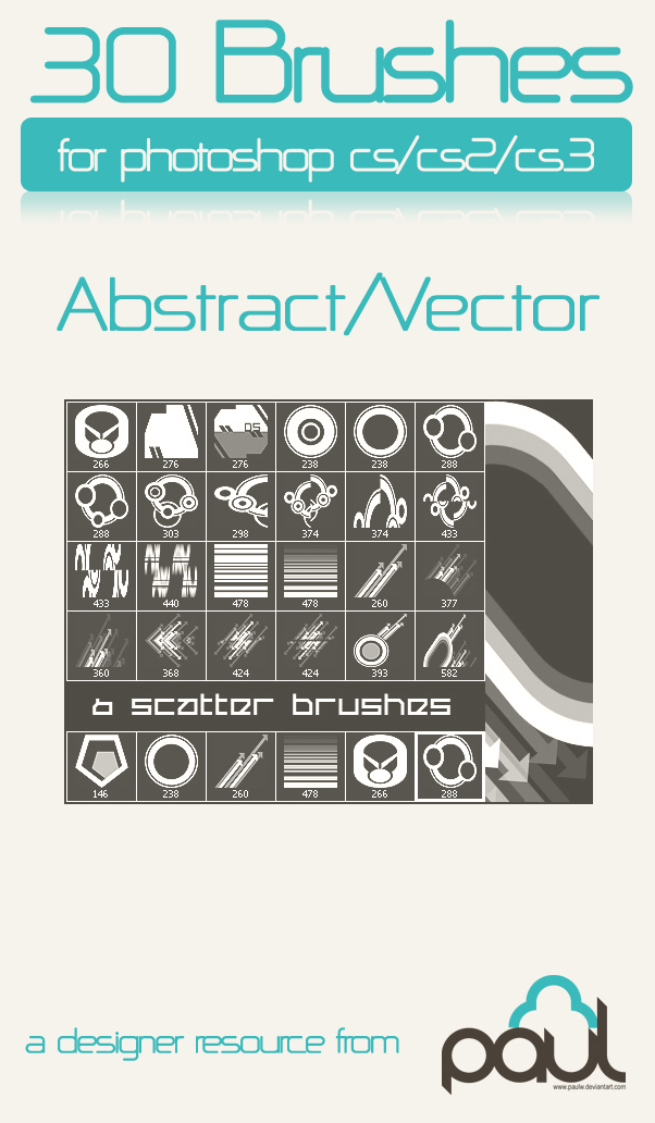 Abstract - Vector brushes 2