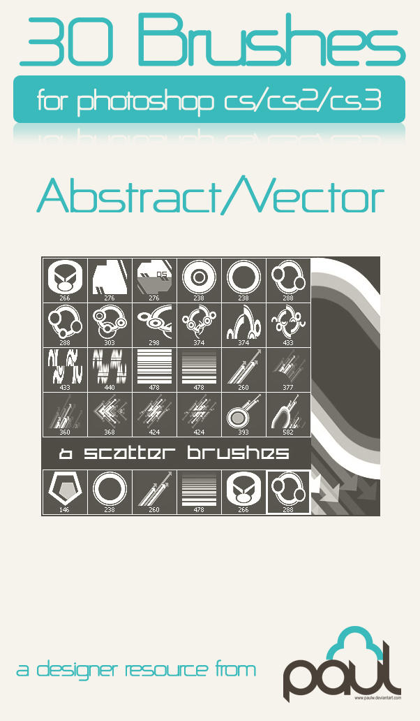 Abstract - Vector brushes 2 by PAULW