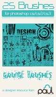 'I Luv Design' Grunge-Vector