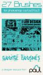 'I LUV DESIGN' Pro Grunge