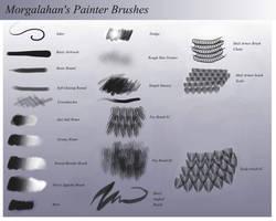 My Painter Brushes by Morgalahan