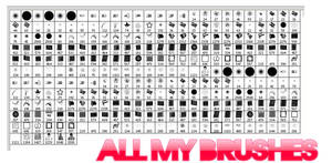ALL MY BRUSHES