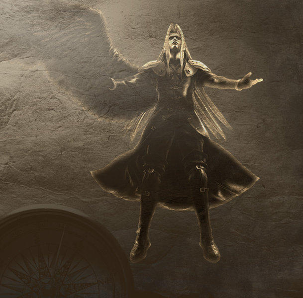 Sephiroth by maleficmistress