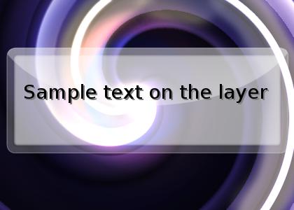 Widget Layer by djlibe