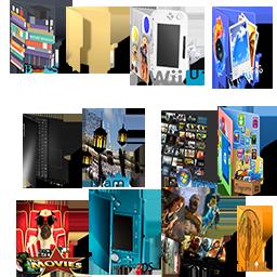 Random Windows Folder icons by oufai