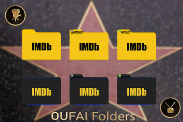 IMDB Folders pack Dark and light
