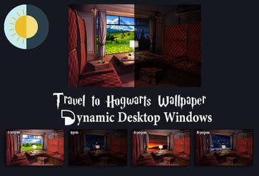 Travel To Hogwarts Windows Dynamic Wallpaper Porta