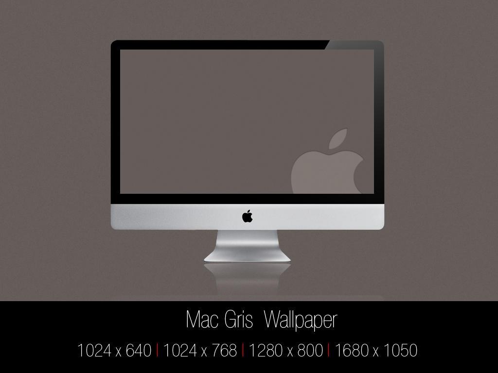 Mac Gris Wallpaper by Mr-JC