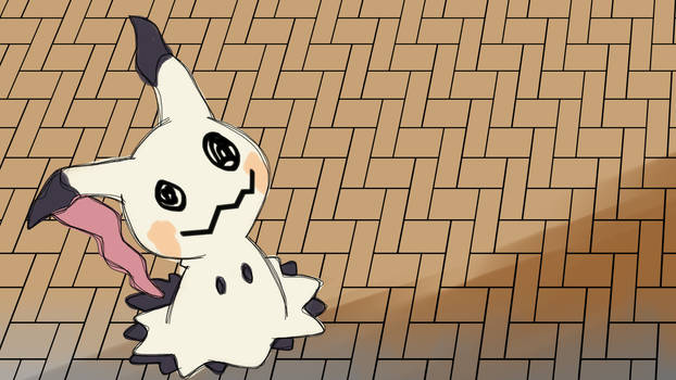 Mimikyu Walking (Gif Animation)