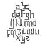 pcb font by budibudz