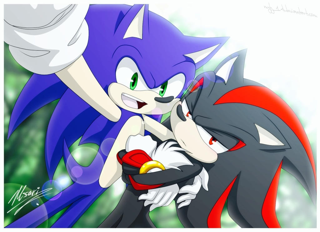 Sonic X Italian Reader X Shadow By Mochi And 2p Rose On Deviantart