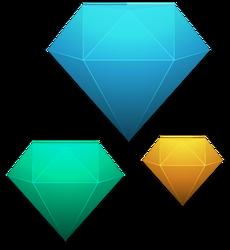 Diamonds (Free to use) No Atribution Necesary! by kemoboydesign