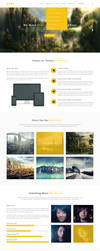 Click- Creative Modern PSD template (freebies) :D by kemoboydesign