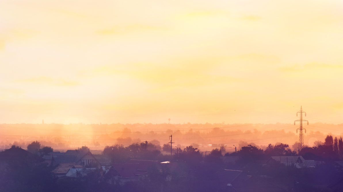 After a Rainy Day (Wallpaper) by kemoboydesign
