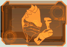 Krogan Mechanic interface by Stealthero