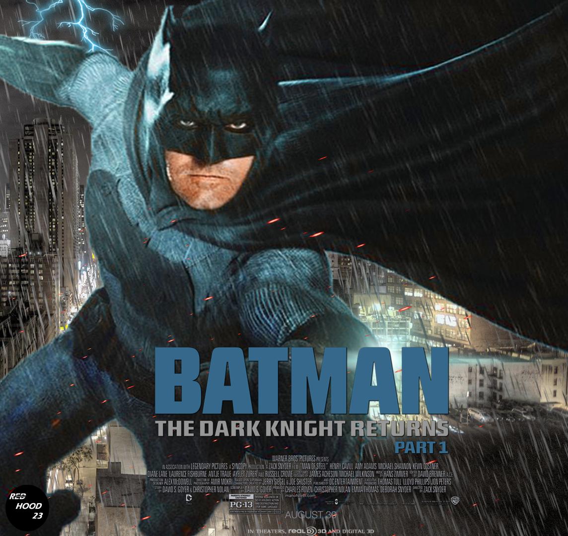 Batman The Dark Knight Returns Part 1 By Redhood2343 On Deviantart