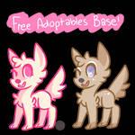free canine adoptables psd!