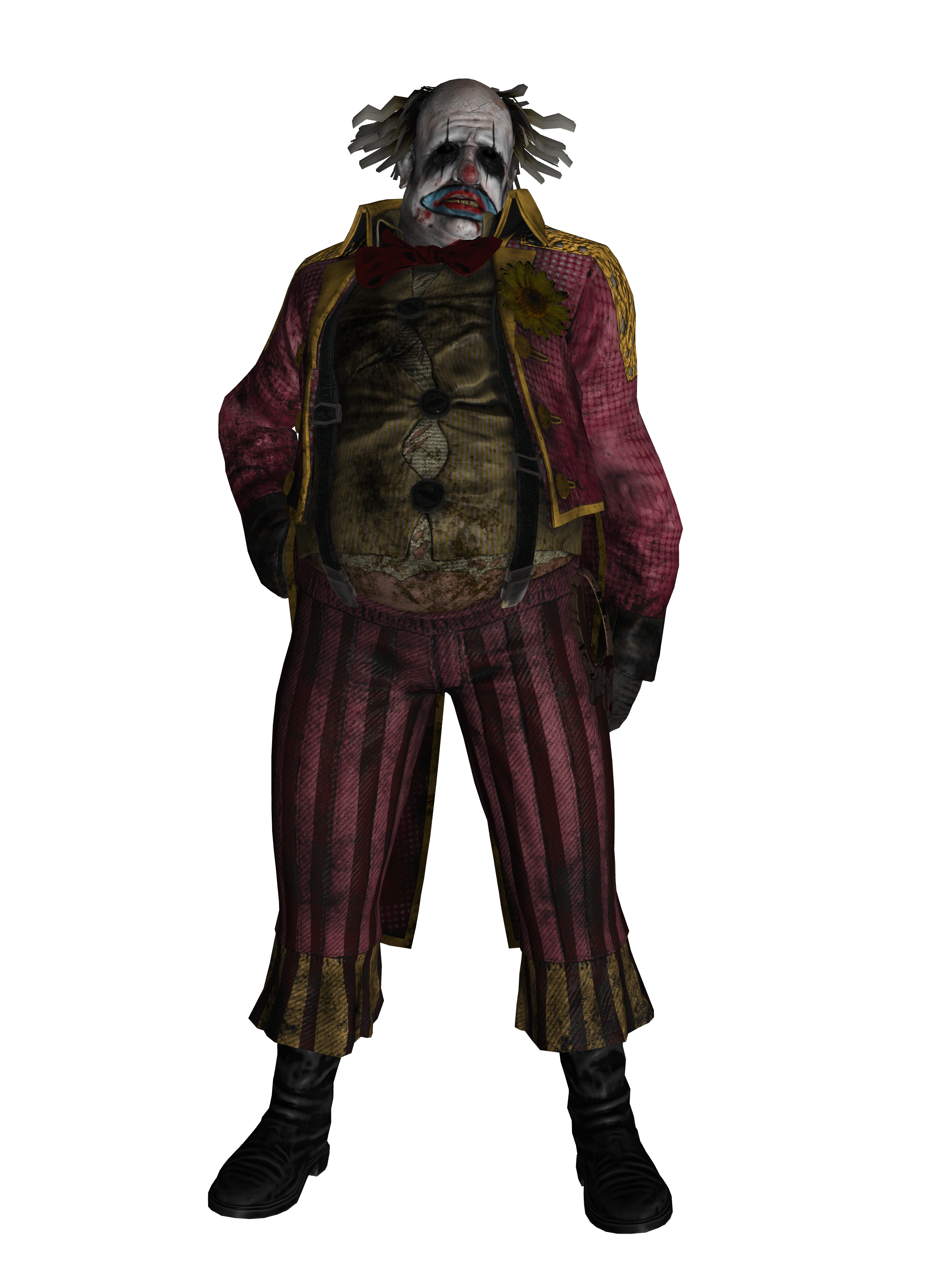 Dead by Daylight - The Clown for XNALara/XPS by Injustizz ...
