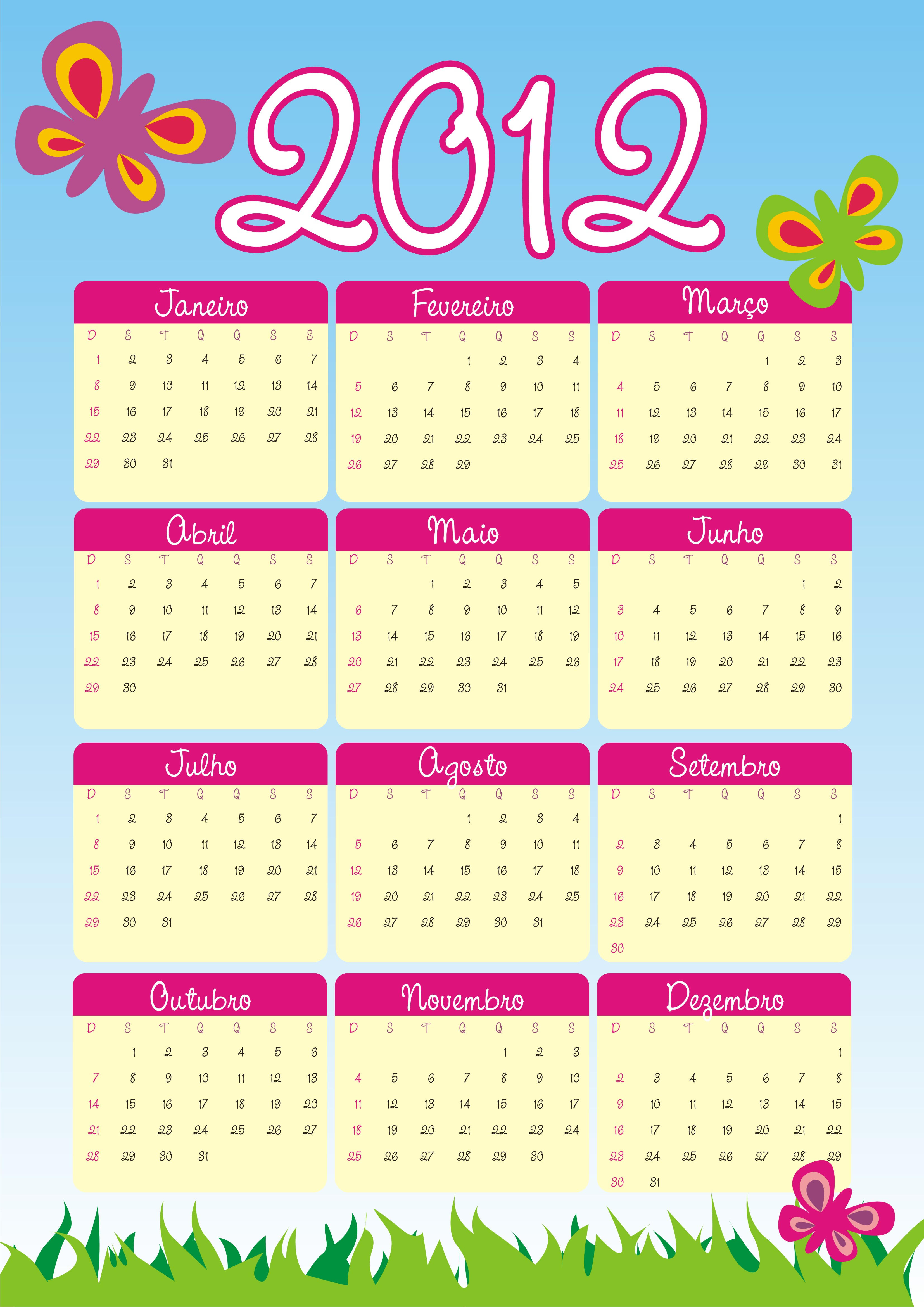 Tutorial Calendario Infantil by graficaebrindes