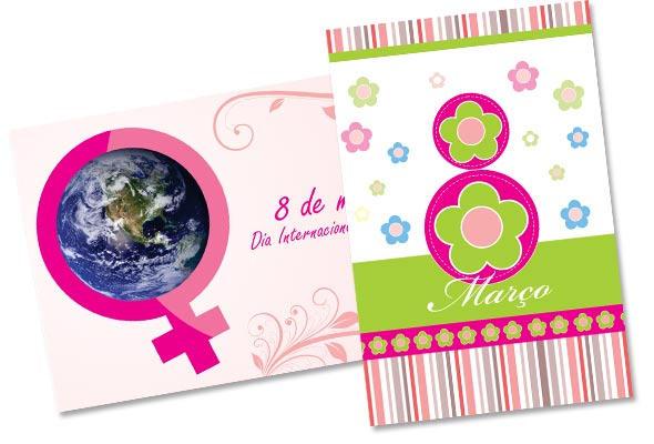 Cartao dia da mulher by graficaebrindes