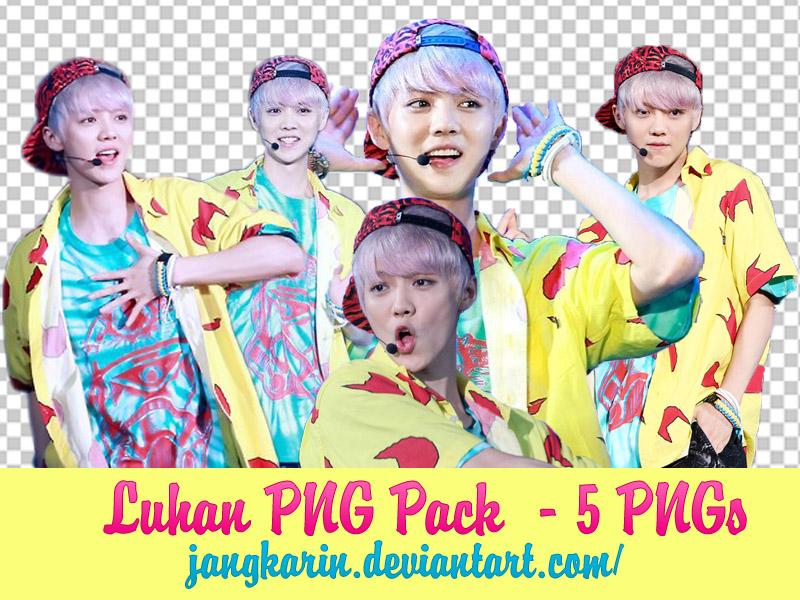 [PNG] Luhan PNGs Pack by jangkarin