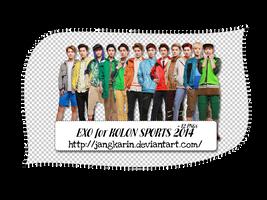 [Render Pack] EXO for KOLON SPORST 2014 - 12 PNGs by jangkarin