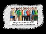 [Render Pack] EXO for KOLON SPORST 2014 - 12 PNGs