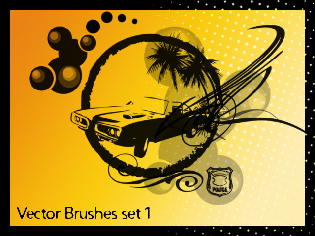 Vector Brushes set 1