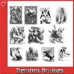 Demons Brushes