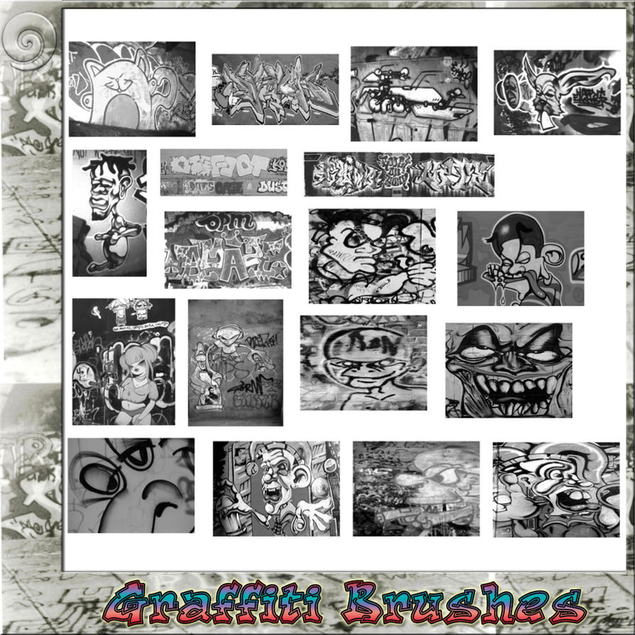 Graffiti Brushes by Trash63
