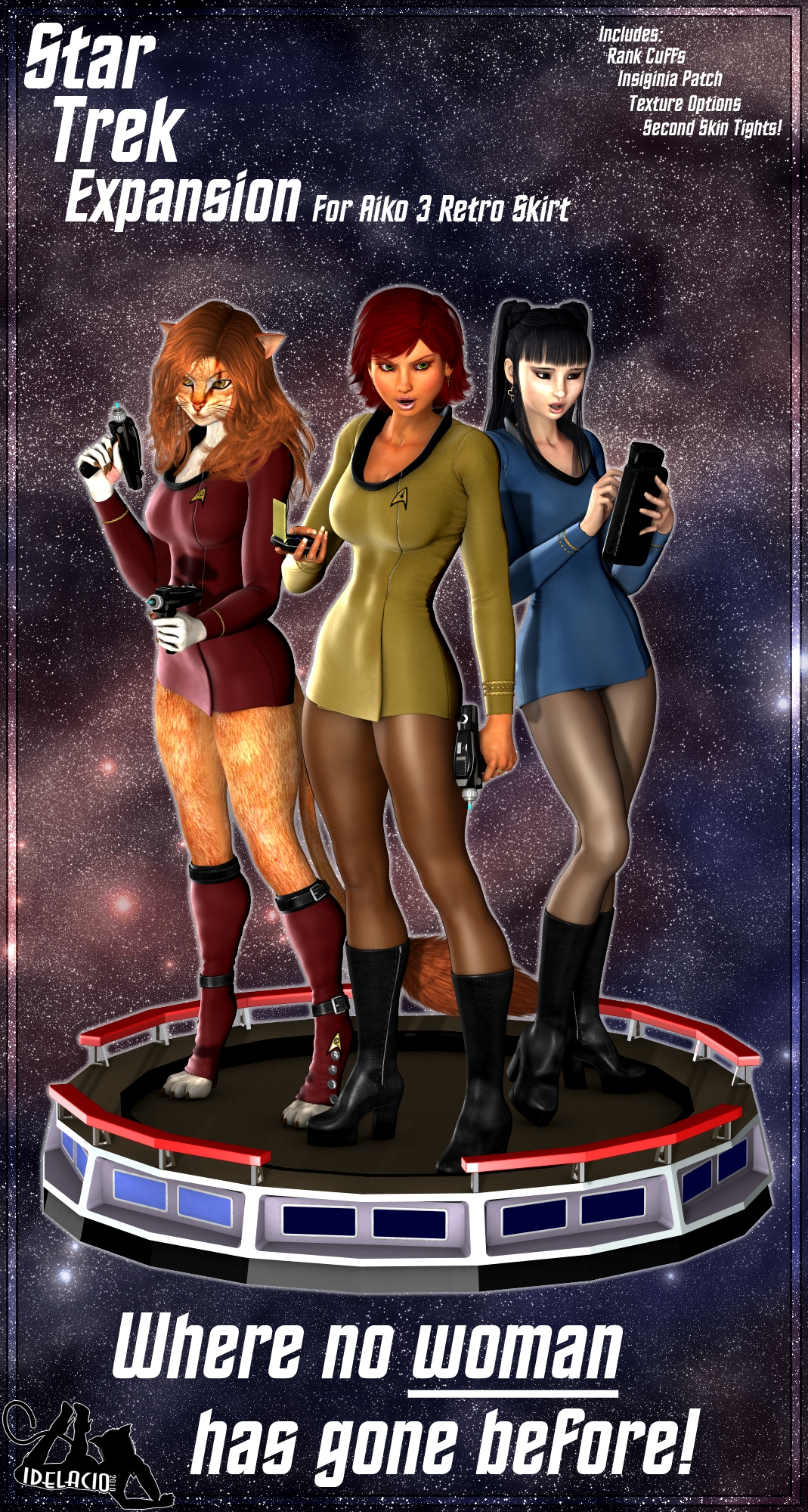 Star Trek Expansion for Aiko 3