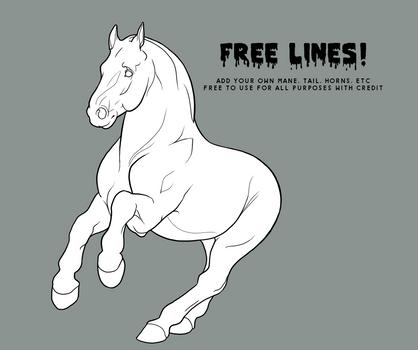 Free to Use: Draft Horse Base!