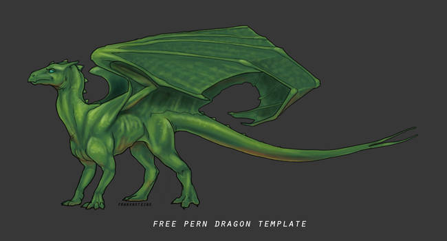Free to use: Pern Dragon Template