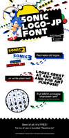 Sonic Logo-JP Font by PepVerbsNouns