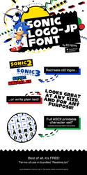 Sonic Logo-JP Font