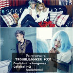 +Photopack   Trouble Maker   #001