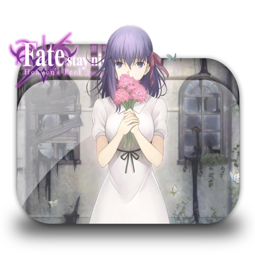 Fate Stay Night Heaven S Feel I Folder Icon V1 By Petrus888 On Deviantart