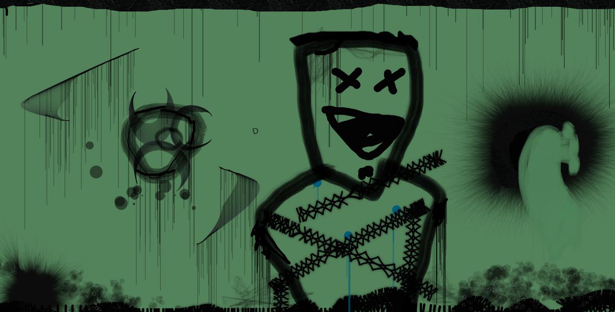 green mess by Metaluck768