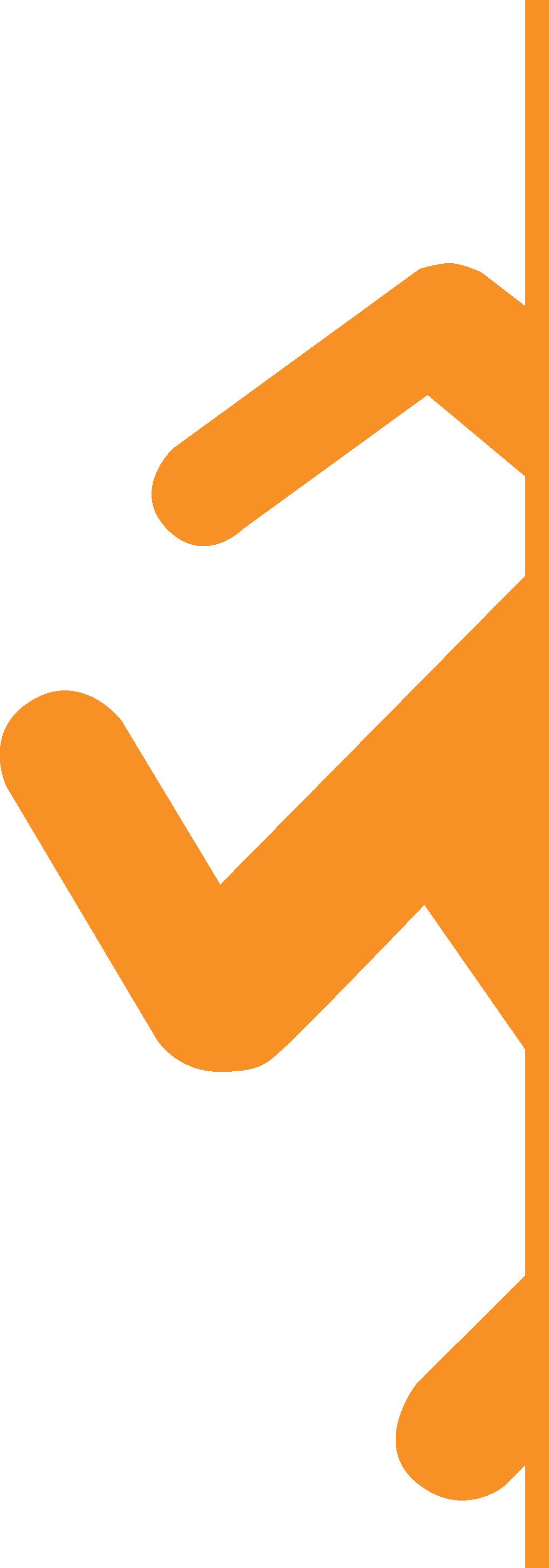 Portal 2 - Logo Runner - Orange