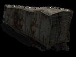 Wrecked Traincar