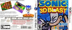 Sonic 3D Blast 3DS box art