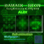 SE k790 Damask Neon