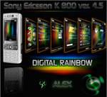 Digital rainbow for K800