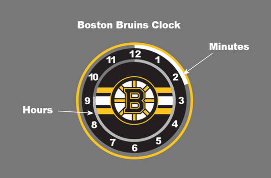 (Request) Boston Bruins Clock