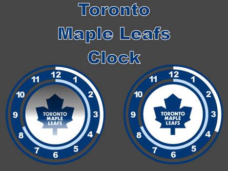 (Request) Toronto Maple Leafs Clock