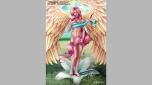 Fluttershy Angel - Steps Digital Painting Video