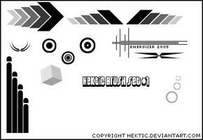 Hektic Brush Set 1 by Hektic