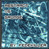 Abstract vs Grunge by fedekiller